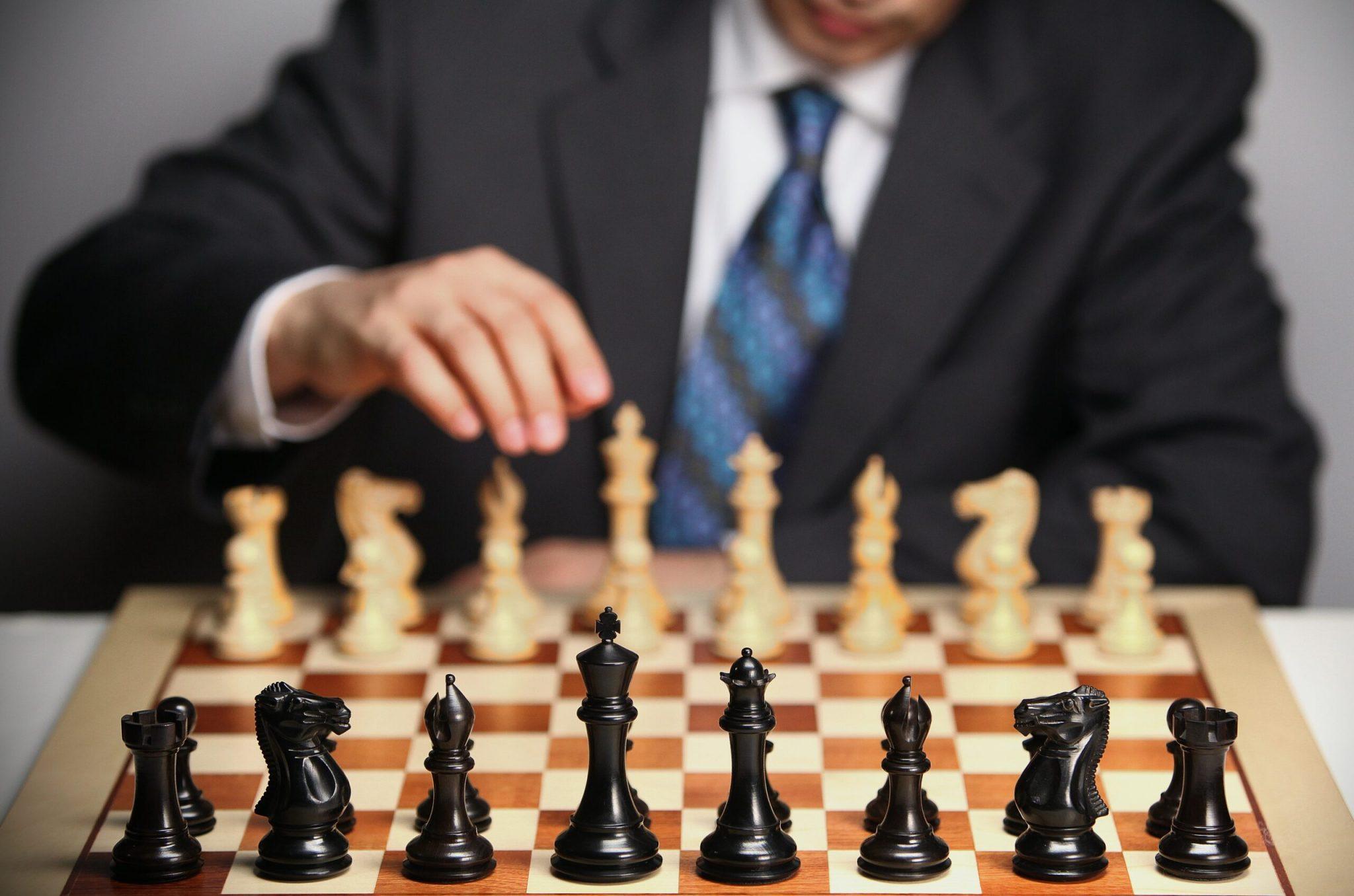 shallow focus photo of chess set