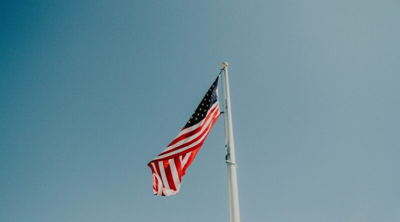 U.S. flag pole during daytime